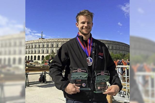 Philipp Kaiser Bester im Südbaden-Team
