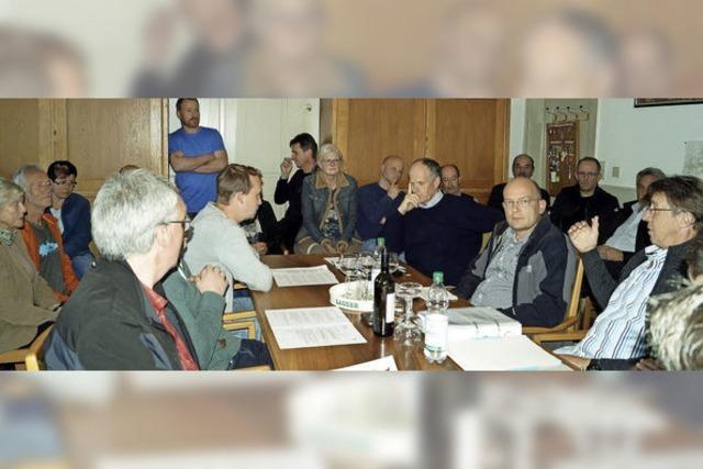 Ortschaftsrat verfolgt Entwicklung weiter aufmerksam