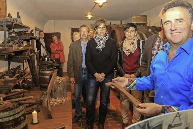 Neues Weinbaumuseum in Ettenheim