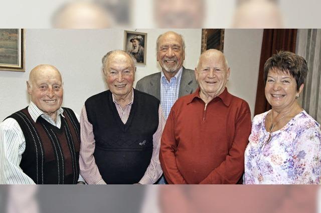 Seit 70 Jahren im Verein