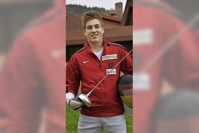 Fechter Alexander Riedel verpasst knapp EM-Bronze