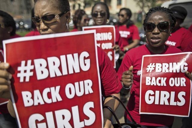 Ein von Boko Haram verschlepptes Mädchen gefunden