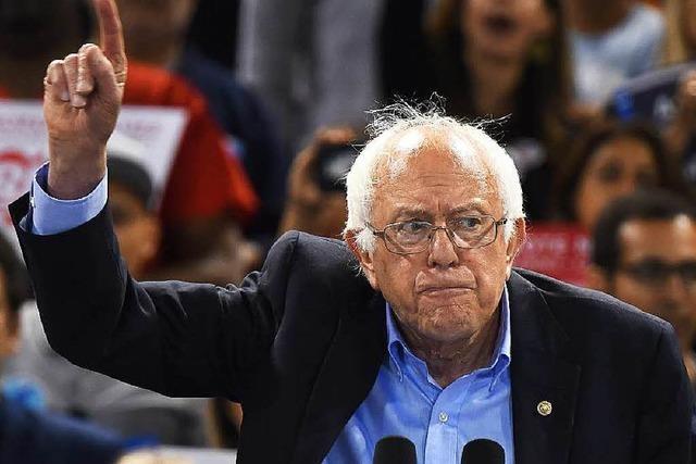 Bernie Sanders: Hartnäckig bis zum Schluss