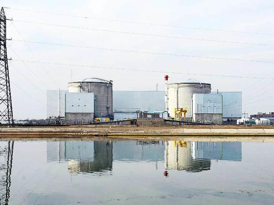 Im Atomkraftwerk Fessenheim steht Bloc... Problemen im nuklearen Bereich still.  | Foto: Christophe Karaba