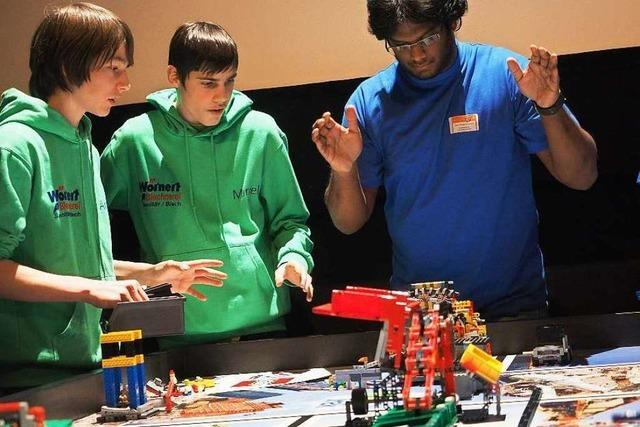 Regionalwettbewerb der First- LEGO-League