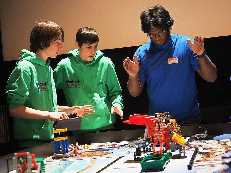 First-Lego-League an der Hochschule Offenburg.  | Foto: Hochschule Offenburg