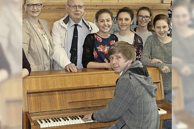 Klavier sucht einen neuen Besitzer