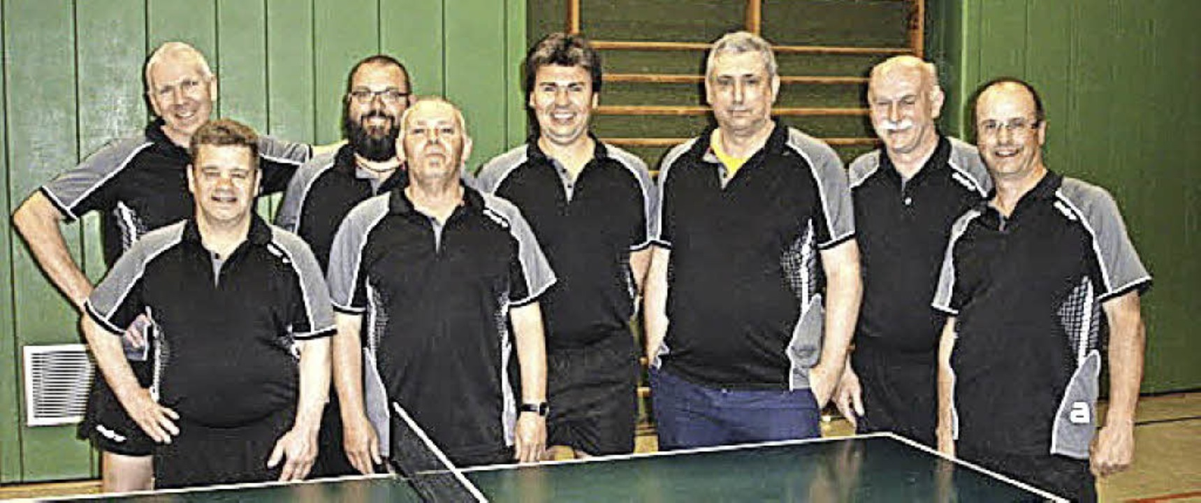 <BZ-FotoAnlauf>Tischtennis:</BZ-FotoAn...hmann, Klaus Kabas und Elmar Ohnemus.   | Foto:  Verein