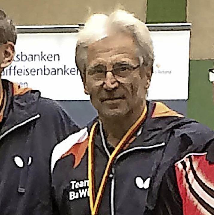 <BZ-FotoAnlauf>Tischtennis:</BZ-FotoAnlauf> Berti Schulz  | Foto: privat