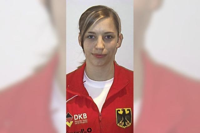 Jana Bachert im Nationalteam