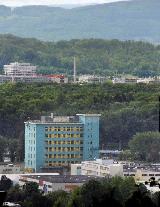 Die Firma Zimmermann wird sich nicht a...BASF-Areal (vorne im Bild) ansiedeln.   | Foto: Ralf H. Dorweiler