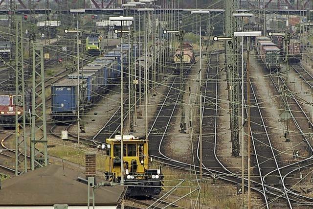 Weiler Güterbahnhof steht nicht auf Streichliste der Bahn