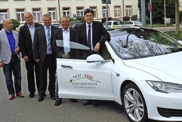 Das erste Elektrotaxi im Landkreis Waldshut