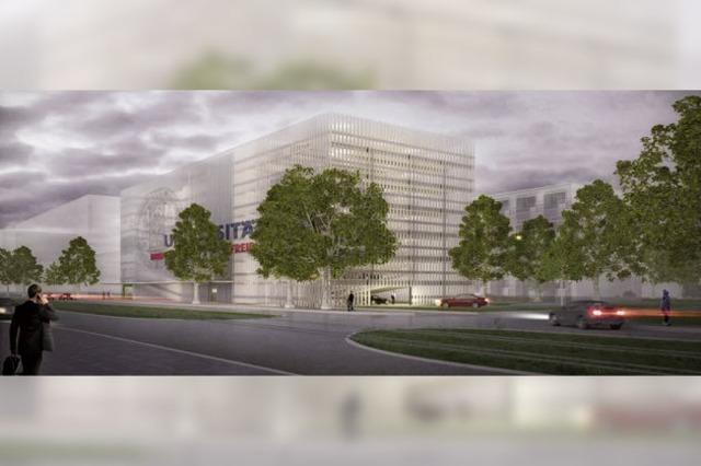 Kritik am geplanten Parkhausbau der Uniklinik