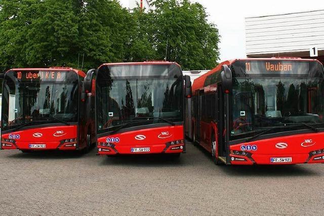 Urbino-Busse: Freiburg wechselt von Mercedes zu Solaris