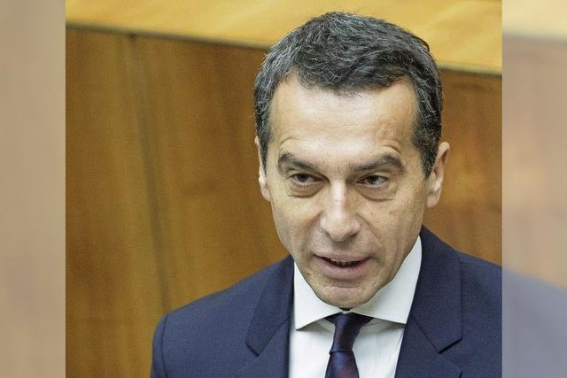 Bundeskanzler Kern fordert einen Ruck für Österreich