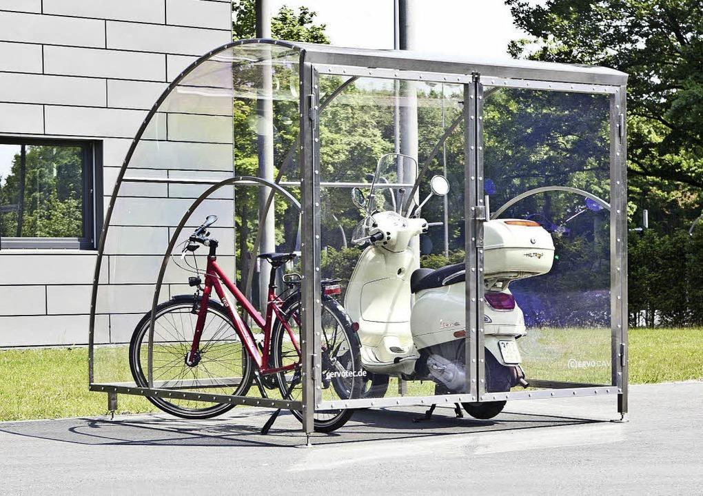 Schuppen Für Mülltonnen der schuppen macht karriere - haus & garten - badische zeitung
