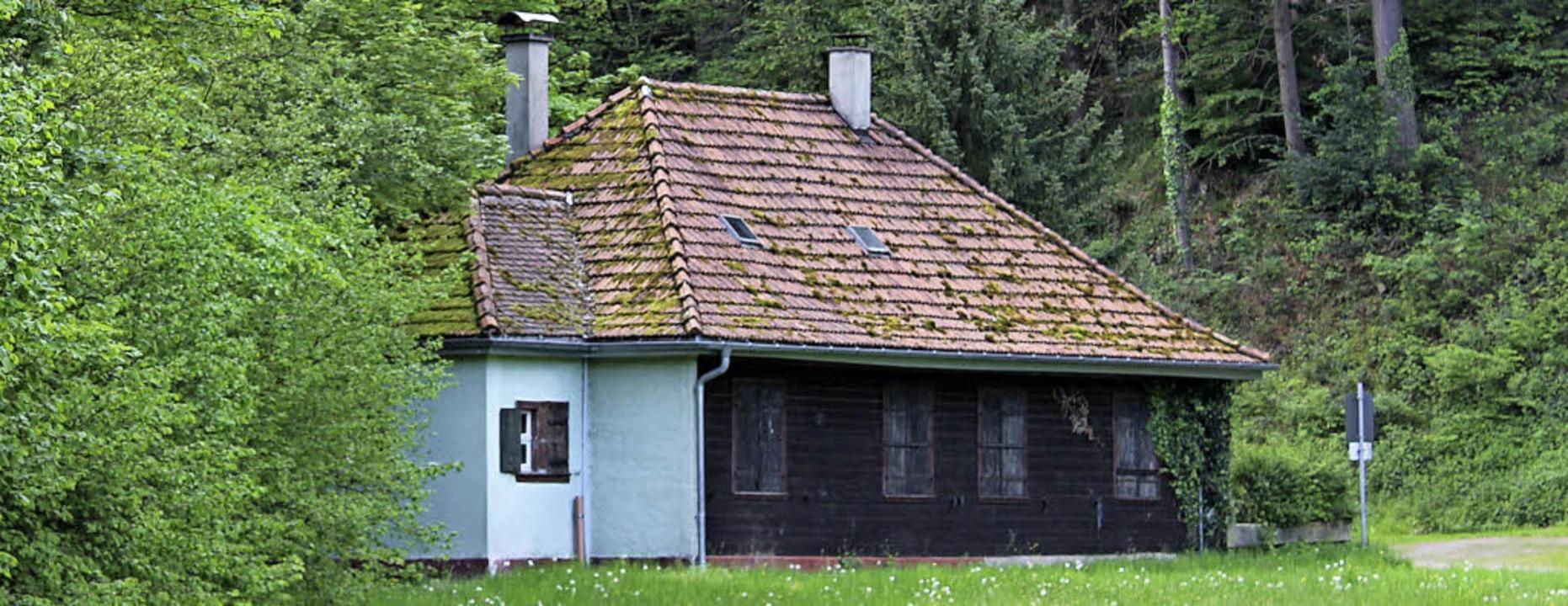 Das alte und ausgediente Schützenhaus ...ald soll zum wichtigen Drehort werden.  | Foto: Erich Krieger