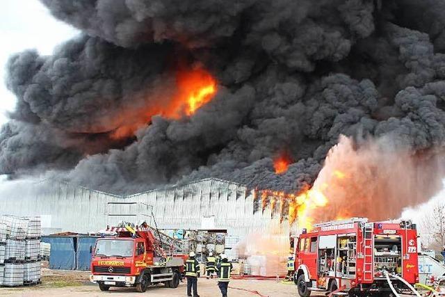 Nach dem Großbrand: Wie geht es beim Kunststoffrecycler KVS weiter?