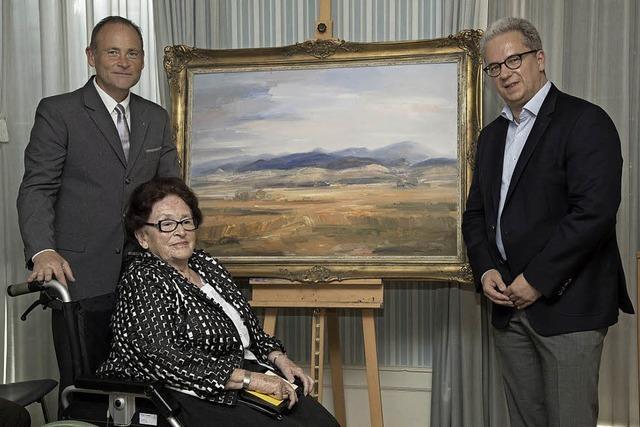 Erinnerung an Heimatmaler Julius Kibiger