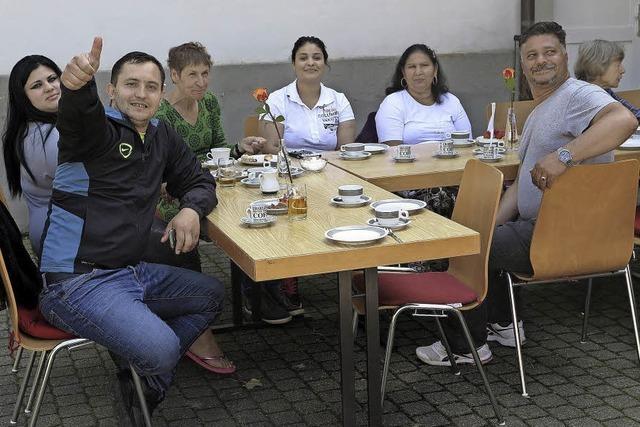 Café International – ein lebhafter Treff