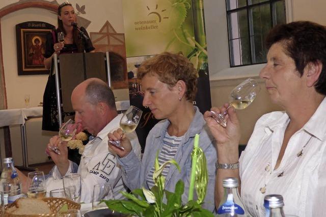 Weinprobe mit Erkenntnissen