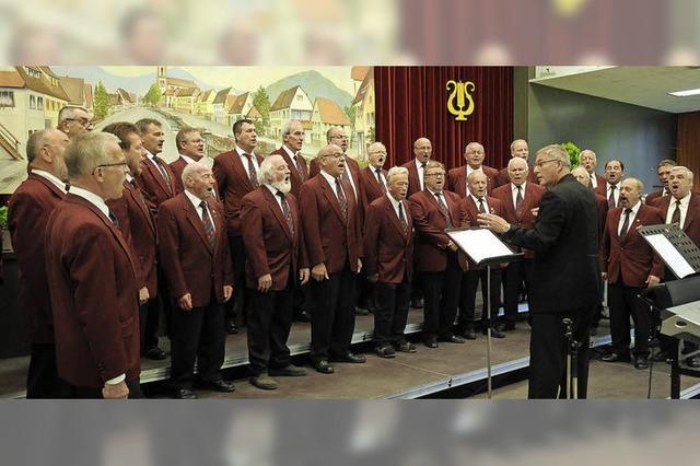 150 Jahre Männergesangsverein Reichenbach: Doppelkonzert zum Jubiläum