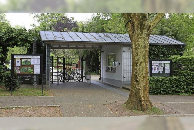 Erhält der Stadtpark einen weiteren Eingang?