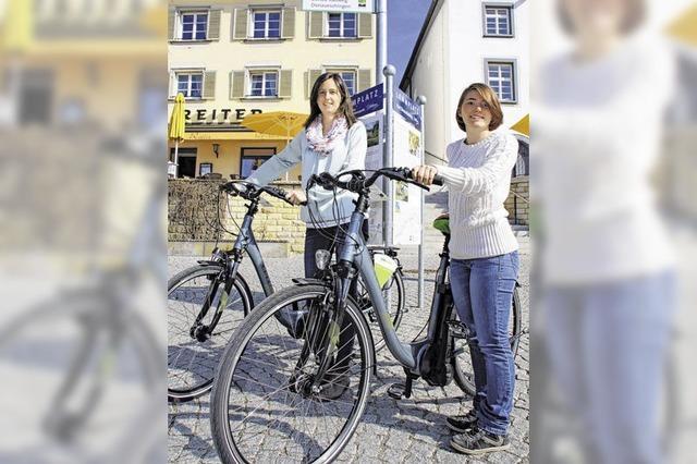 E-Bike-Radler gesucht