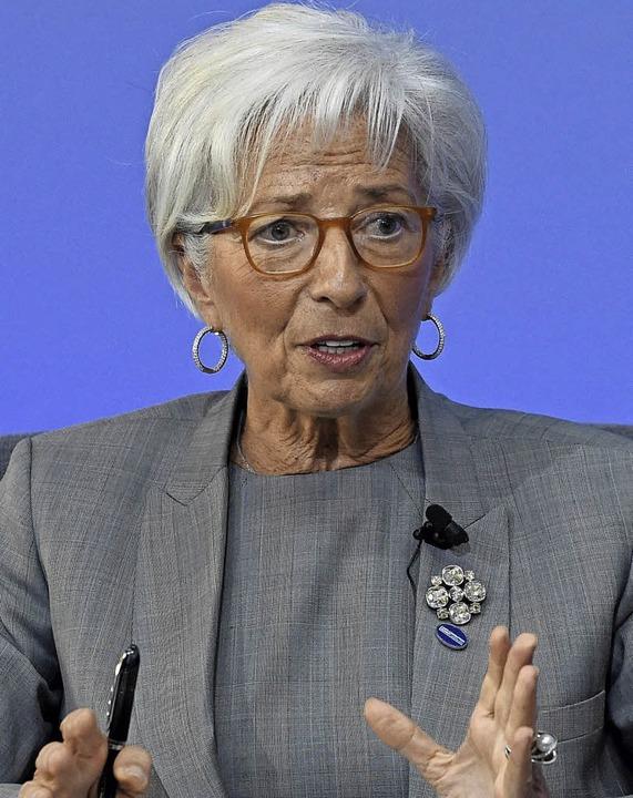 Zwei, die es geschafft haben:  Christi... Chefin des Währungsfonds, <ppp></ppp>  | Foto: AFP