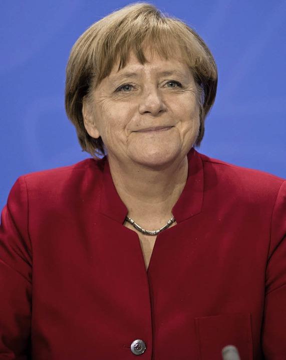 <ppp>&#8197;</ppp>&#8197;und die deutsche Bundeskanzlerin  Angela Merkel.  | Foto: dpa