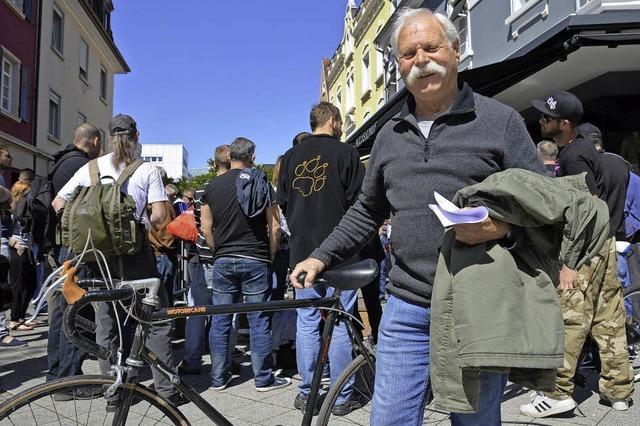 90 Fahrräder wechseln die Besitzer