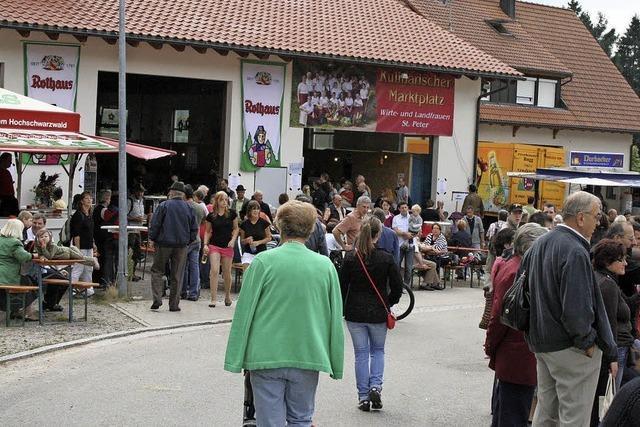 Firmen und Vereine präsentieren sich in St. Peter
