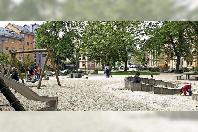 Park-Umbau für 450 000 Euro