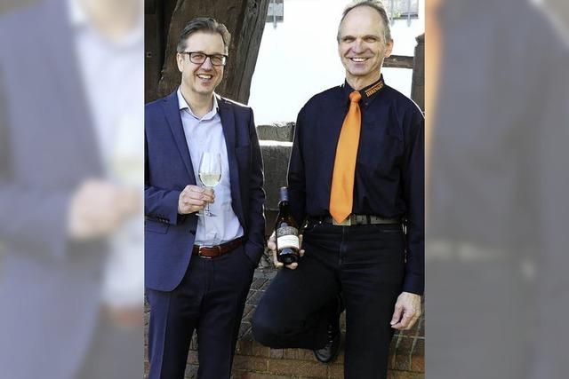 Neue Etiketten und ein neuer Festwein