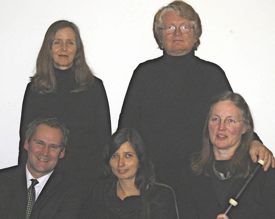 Das Kammerchor-Ensemble Musica Canora ...r, in der Kapuzinerkirche Stühlingen.     Foto: Veranstalter