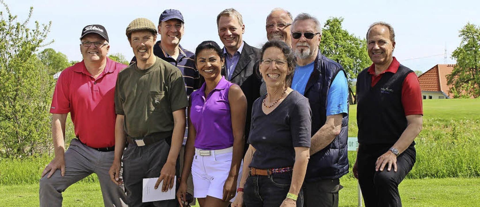 Sie gewannen Preise beim Gewinnspiel a...-Erlebnistag des Golfclubs Obere Alp.     Foto: Golfclub obere Alp