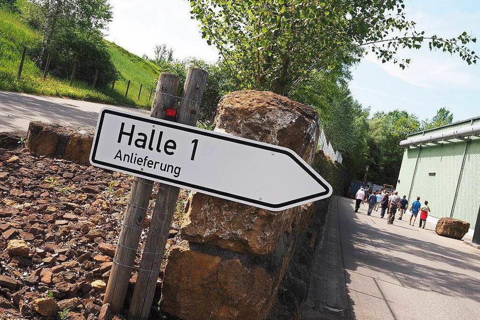 Hier geht's los, hier werden Abfälle am Kahlenberg angeliefert. (Foto: Susanne Gilg)