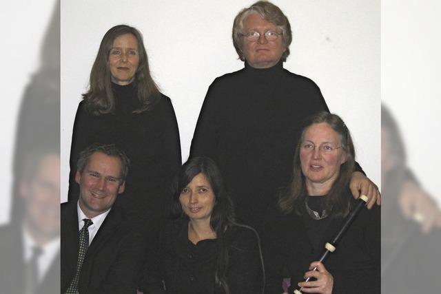 Ensemble Musica Canora konzertiert unter dem Motto