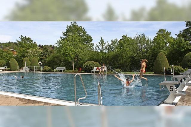 Schwimmbadsaison ist eröffnet