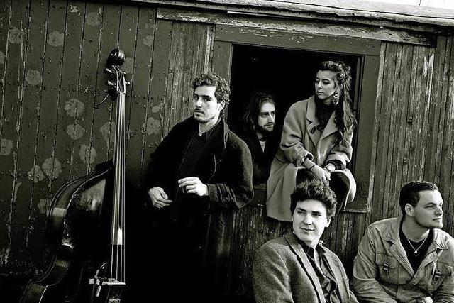 Die Band Triaz spielt im Freiburger Elpi
