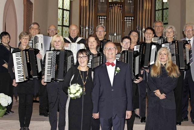 Harmonika-Hochzeit