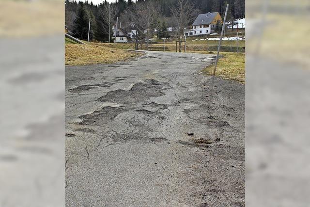 Straßen sollen saniert werden