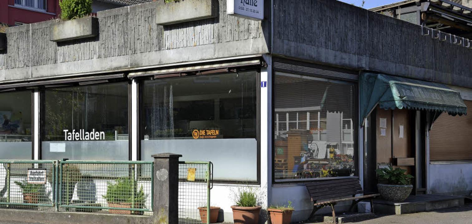 Das Gebäude der Tafel an der Hildastraße ist in die Jahre gekommen.   | Foto: Christiane Weishaupt