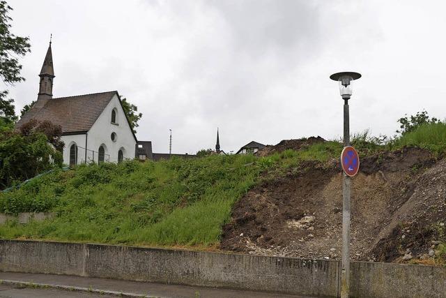 Mittelalterliches Ravelin ist abgebaut