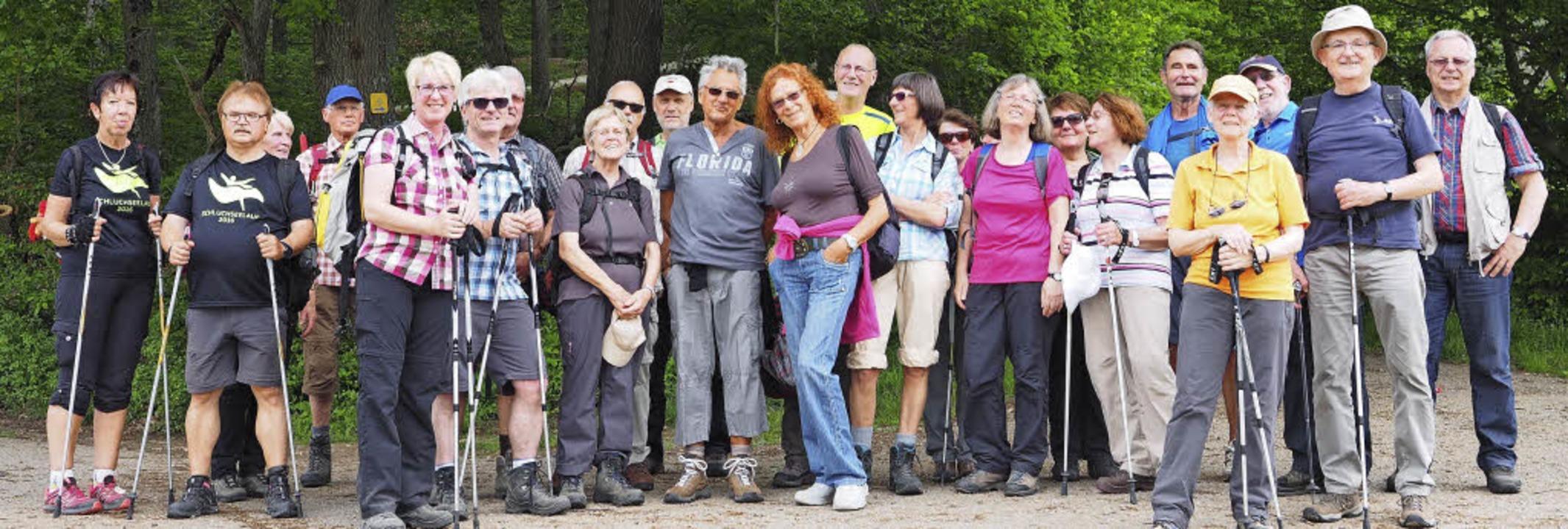 24 BZ-Wanderer waren am Sonntag auf de...alternativen Energien im Ortenaukreis.  | Foto: Susanne Gilg