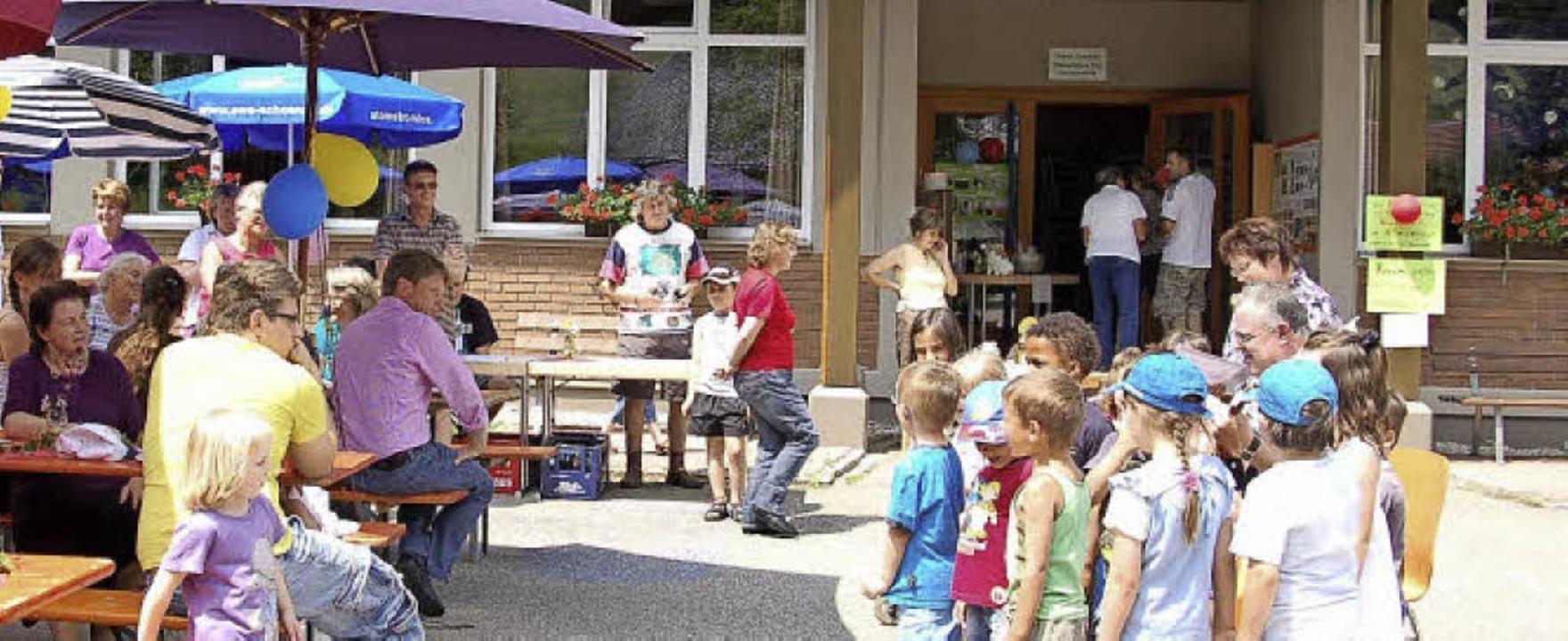 Der Kindergarten Präg (Archivbild vom ... am 25. Juni das 25-jährige Bestehen.     Foto: Jäger
