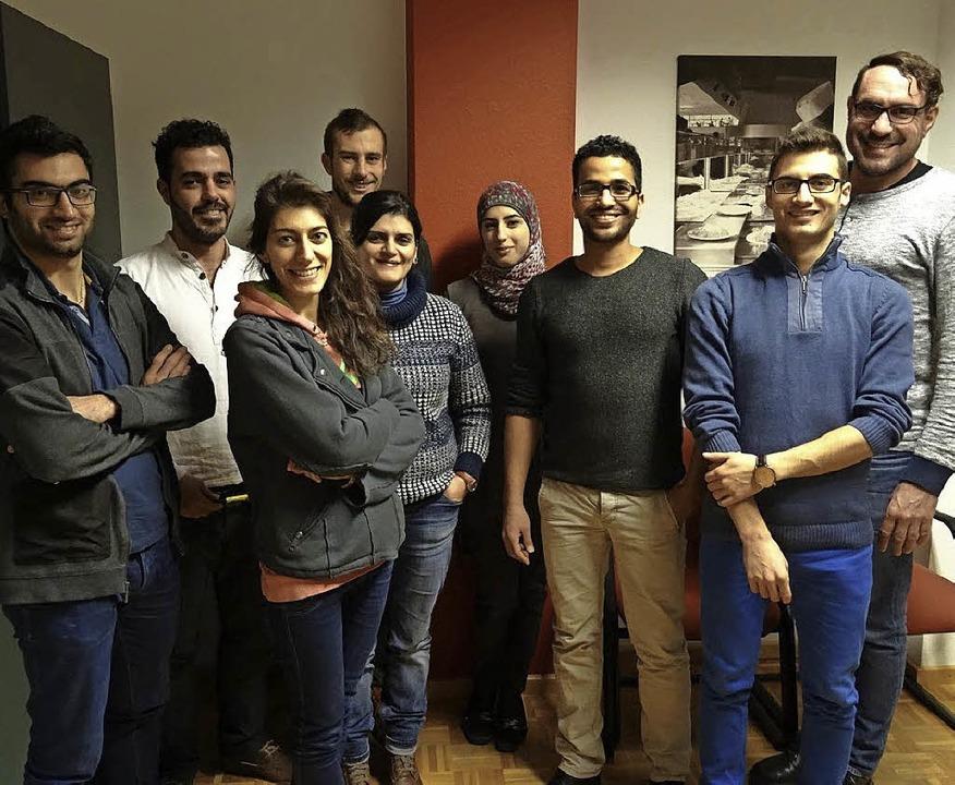 """Das Projektteam """"Yalla Orient""""     Foto: Studierendenwerk"""