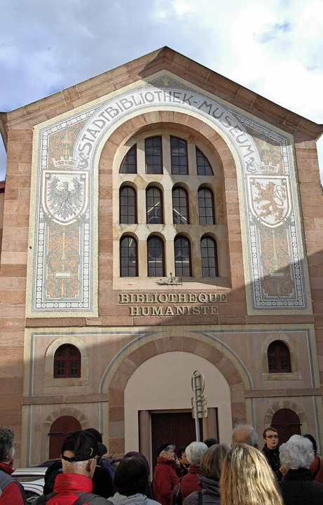 Berühmt: Die Humanistische Bibliothek in Sélestat.   | Foto: hubert bleyer