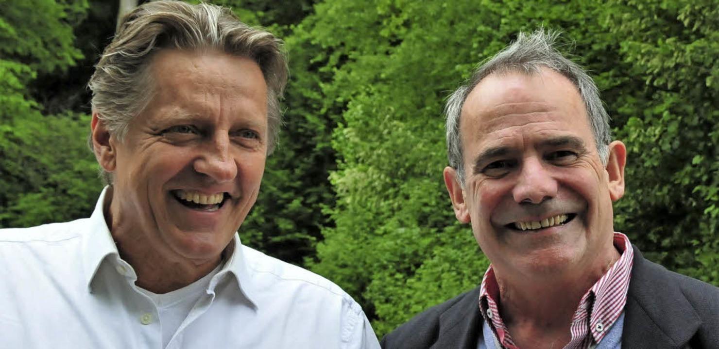Die Balance-Berater Hans-Jürgen Lenz (links) und Werner Moser    Foto: Privat
